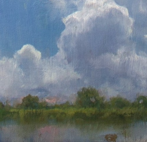 Devin Michael Roberts Clouds Paintings Art on sale