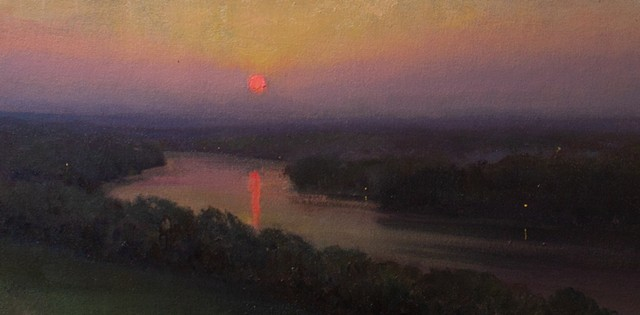Devin Michael Roberts Sunset Art Painting