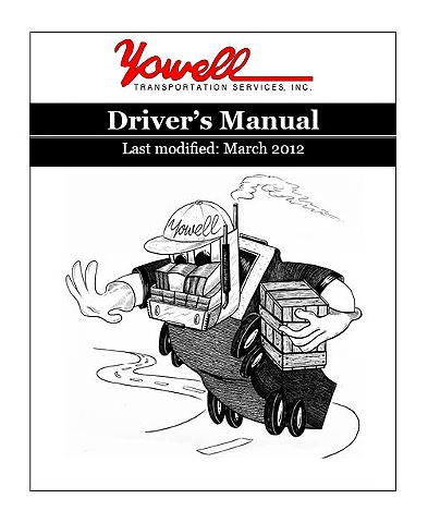 Yowell Transportation Driver Manual Cover