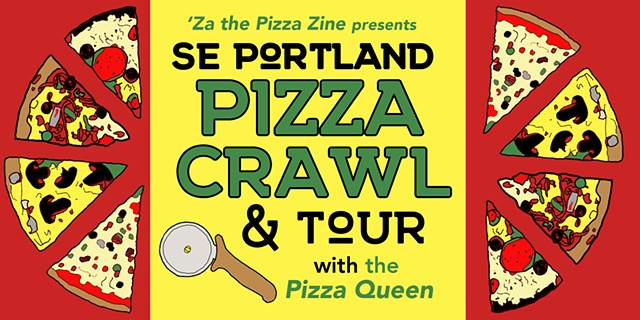 SE Portland Pizza Crawl & Tour Promo Graphic