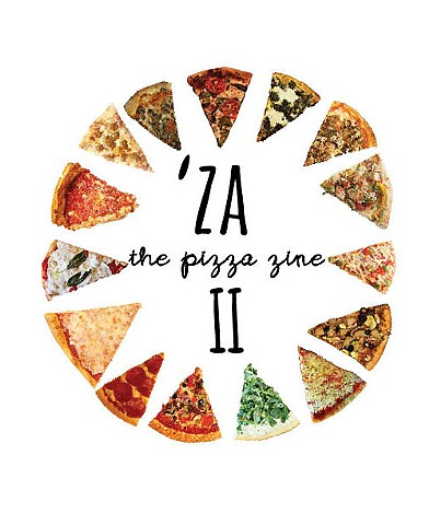 'Za the Pizza Zine II Cover