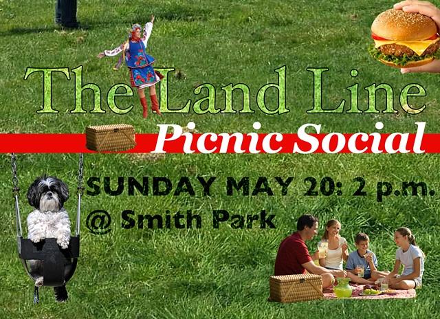 The Land Line Picnic Social Promo Poster