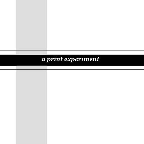 Lightness & Darkness, Intro Page