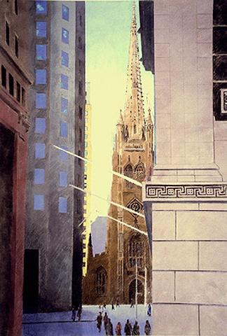 Trinity from Wall Street