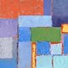 Square in Blue & Orange