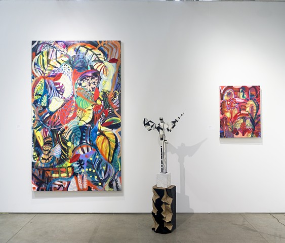 Installation shot, NADA 2018, NYC with Denny Gallery