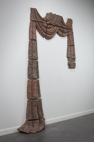 Untitled (Curtain) (detail)
