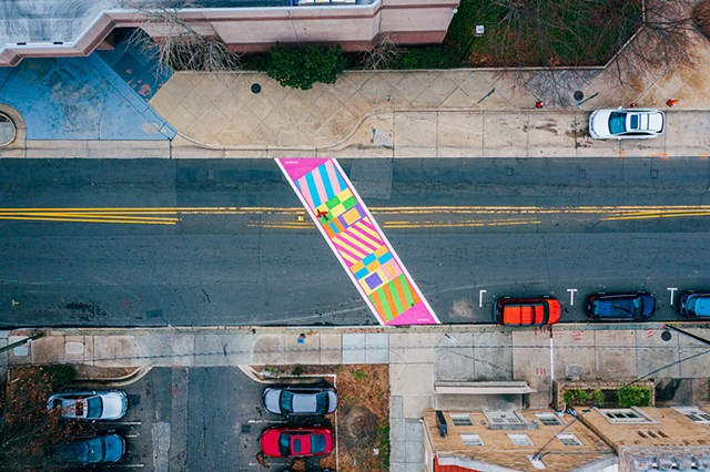 Crackling! Commisioned by Durham Arts Council for City of Durham, NC 2019  Funded by the NEA, NC Arts Council and additional public/ private partners.