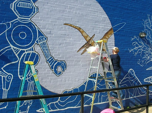 Mural - Discovery Science Place, Tyler, TX