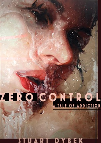 STUDENT'S WORK   GRAPHIC DESIGN: ZERO CONTROL BOOK COVER ( SEX ADDICTION)   PROF. STEVEN DANA YEUNGNAM UNIVERSITY, DAEGU