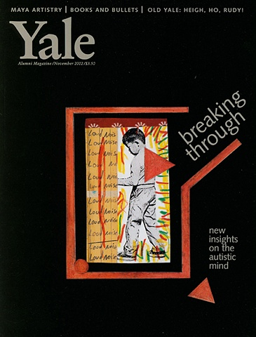COVER: YALE MAGAZINE:  Article on Autism
