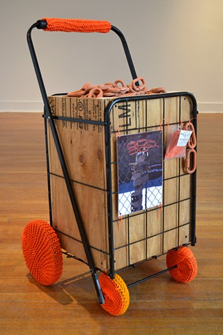 Free Arts Brooklyn: Mending Fences as part of the exhibition Away Game at Klapper Gallery, Queens College, Queens, NY