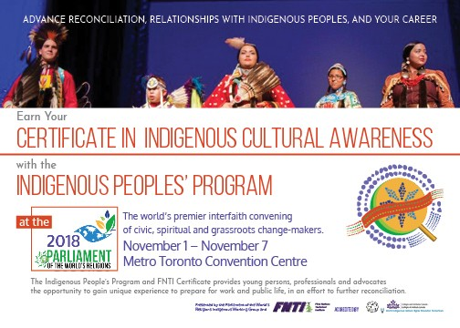 POWR – Indigenous Accreditation Postcard Front