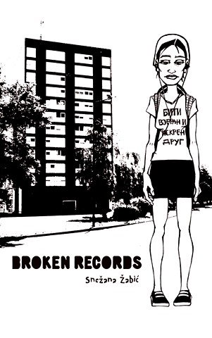 Cover for Broken Records, by Snežana Žabic