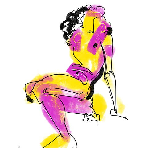 Digital Figure Study #23