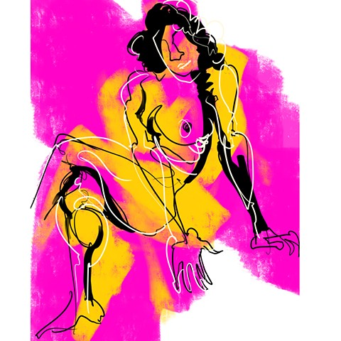 Digital Figure Study #24