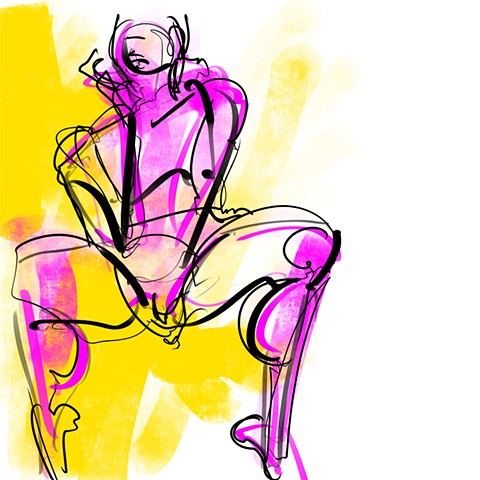 Digital Figure Study #21