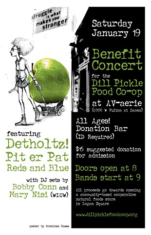 Dill Pickle Benefit Poster