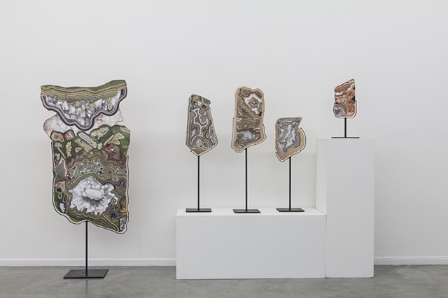 Totems Installation View