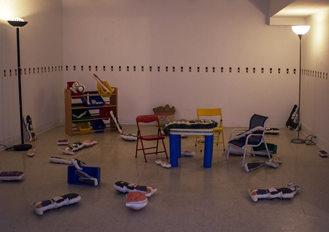 Young Gullys (installation view)