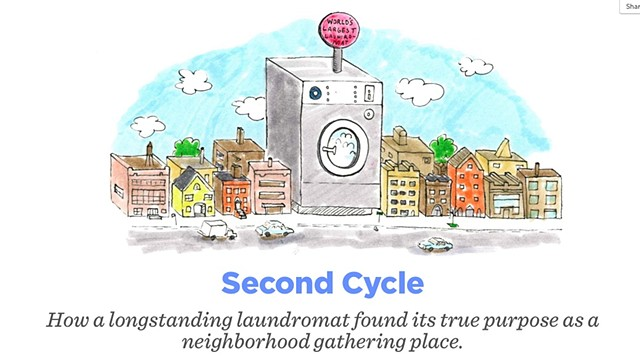 World's Largest Laundromat header