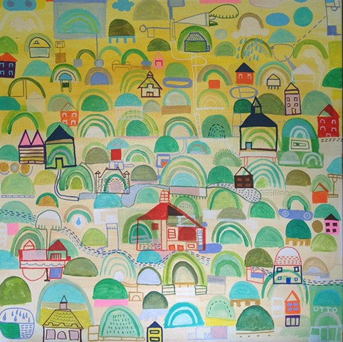 Hilly Town / Sold