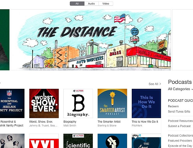 The Distance iTunes Feature