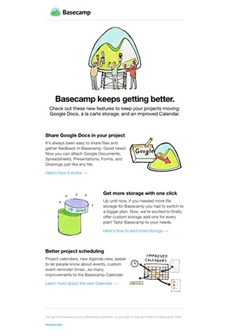Basecamp Newsletter