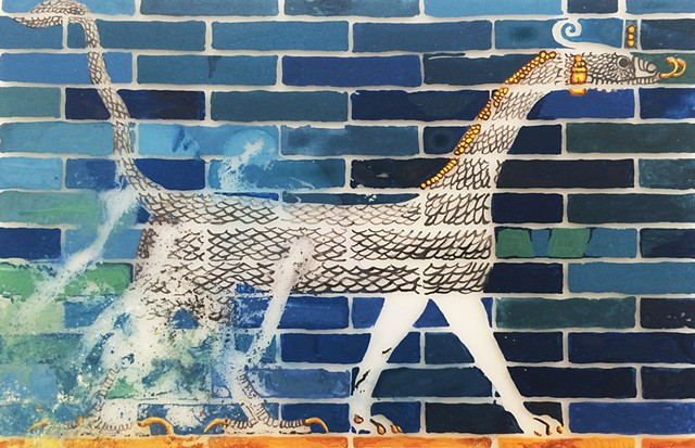 Object Impermanence (Ishtar Gate)