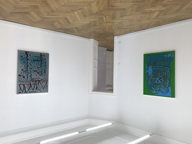 'Forest Dwellers,' installed at Phillip Haverkampf Gallery. August 5 - September 8, 2020