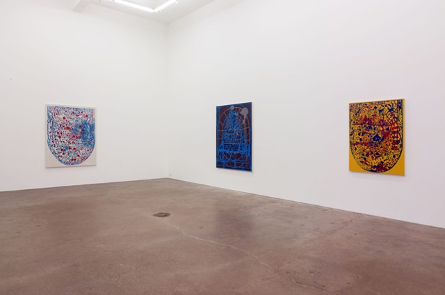 EJ Hauser, Barn Spirits, installation view at Derek Eller Gallery, New York