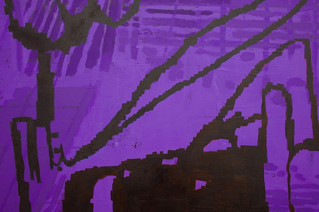 purple beast (detail)