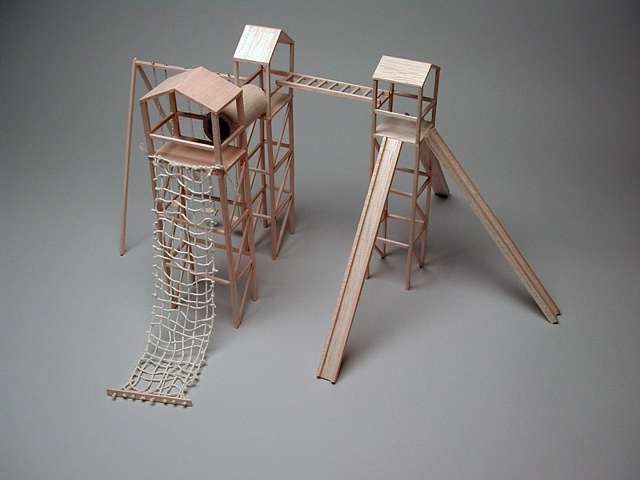 Jungle-Gym, Scale Model