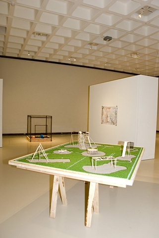 Installation of Playground, Scale Model