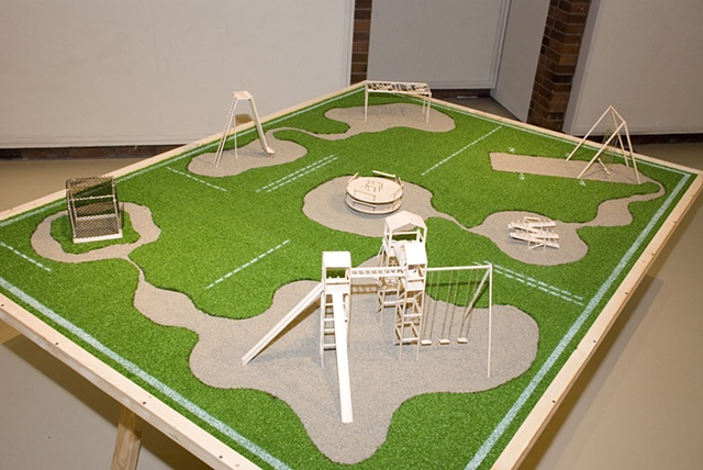 The Playground, Scale Model