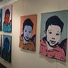 installation John M. Parrott Gallery Belleville, Ontario