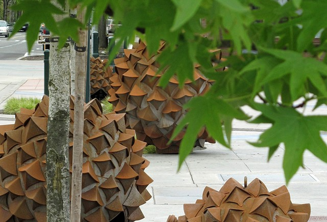 sweet gum sculptures in Kent WA