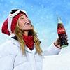 Coca Cola - snowflake