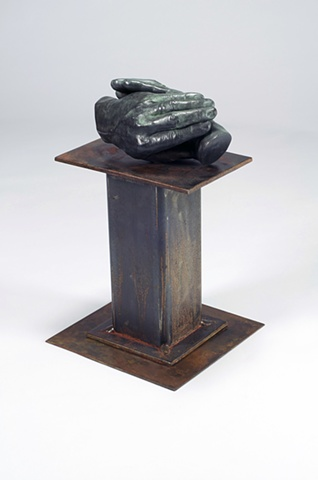 Bronze sculpture by Milt Friedly