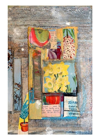 Mixed Media (paint, pencil, vintage magazines, wood, fabric, photography)