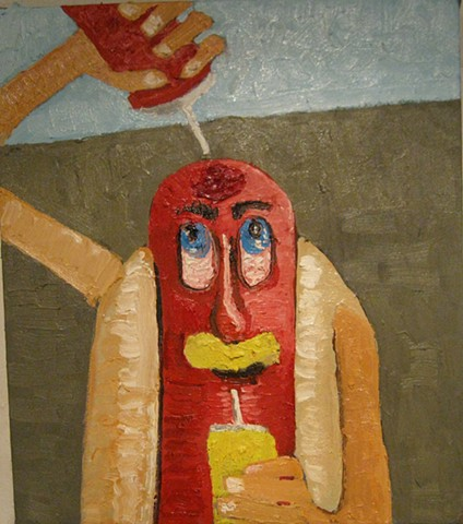 Portrait of a Hot Dog