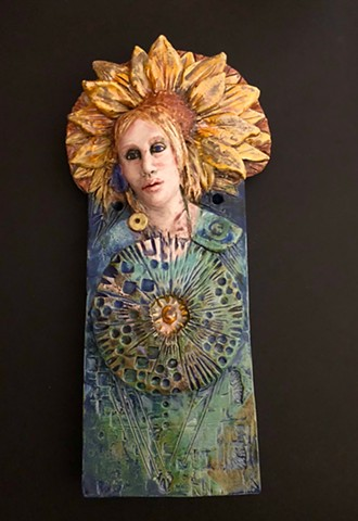Sunflower Muse SOLD