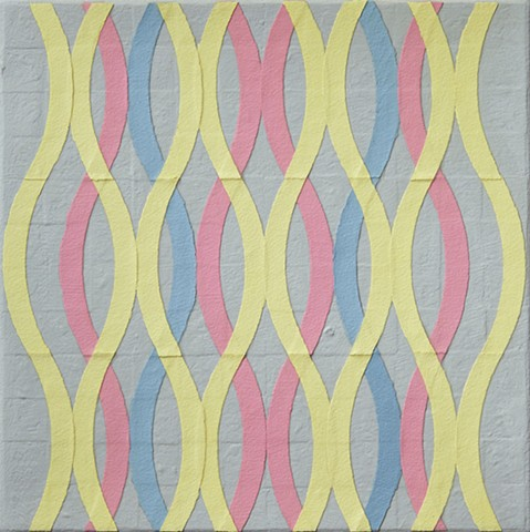 Textural abstract painting