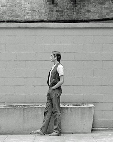 Walking Self-Portrait