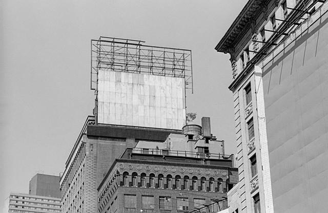 Empty Billboards, Times Square