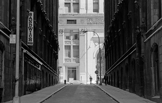 Sandwich Shop, Lower Manhattan