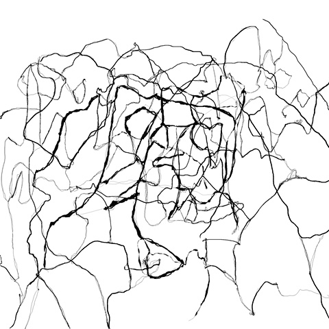 Untitled line drawing 0 white