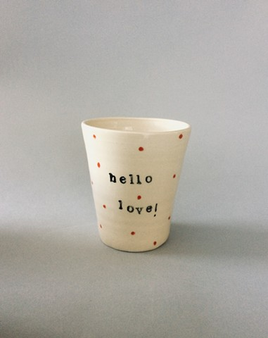 Hello Love cup
