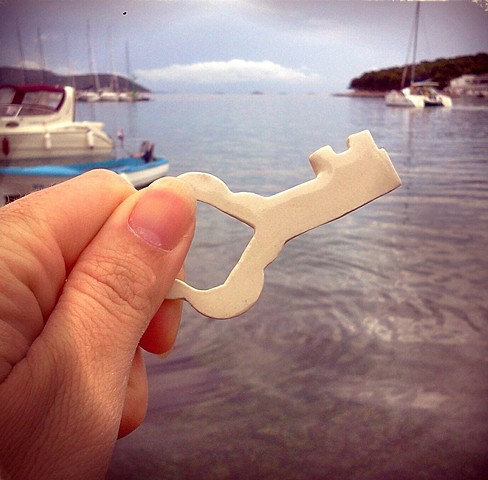 Porcelain key  Adriatic Sea, Croatia