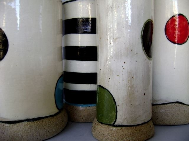 Vases, close up